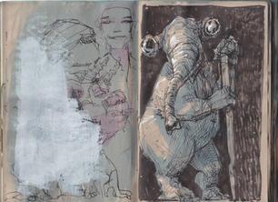Sketchbook 30 - 32