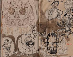 Graham Smith Sketchbook 28- 136