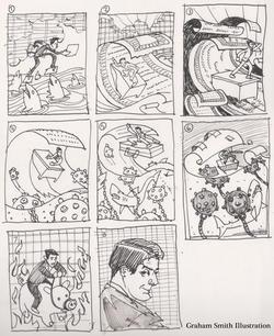 ai5000 partridge sketches