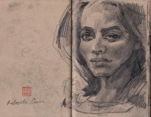 Graham Smith Sketchbook 28- 107