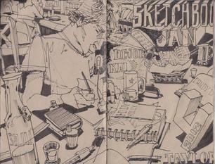 Sketchbook 30 -  3