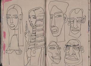 Graham Smith Sketchbook 28- 130