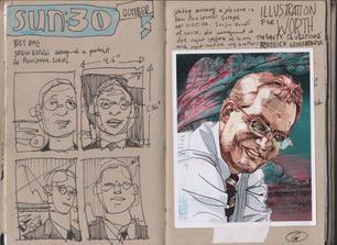 Graham Smith Sketchbook 28- 133
