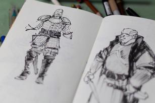 sketchbook 40 3109