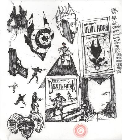 Devil Horns sketches