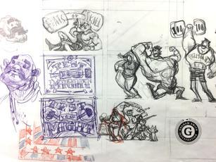 strongman sketch_0443- Graham Smith