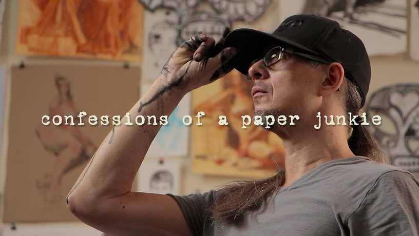 confessions of a paper junkie