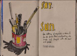 Graham Smith Sketchbook 28- 129