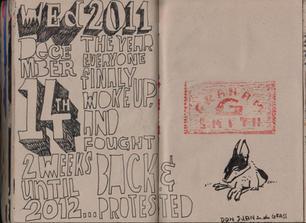 Graham Smith Sketchbook 28- 114