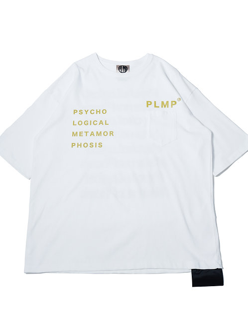POCKET WIDE HEAVY TEE / WHITE