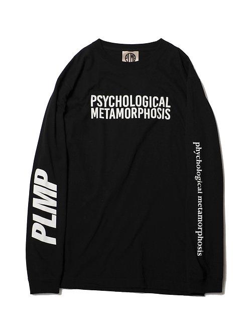 PLMP L/S LOGO BLACK