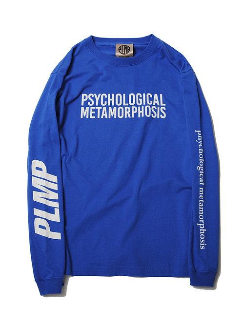 PLMP L/S LOGO BLUE