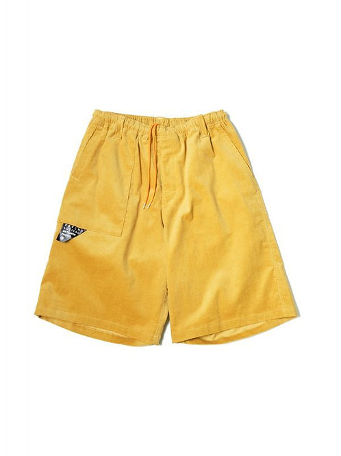 CORDY EASY SHORTS YELLOW