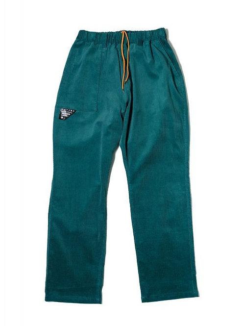 CORDY EASY PANTS GREEN