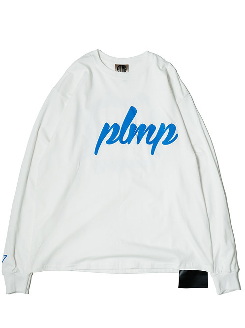 EXPANSION LS TEE / WHITE/BLUE