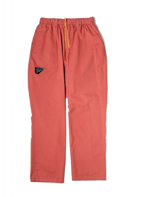 CHINO EASY PANTS LT RED