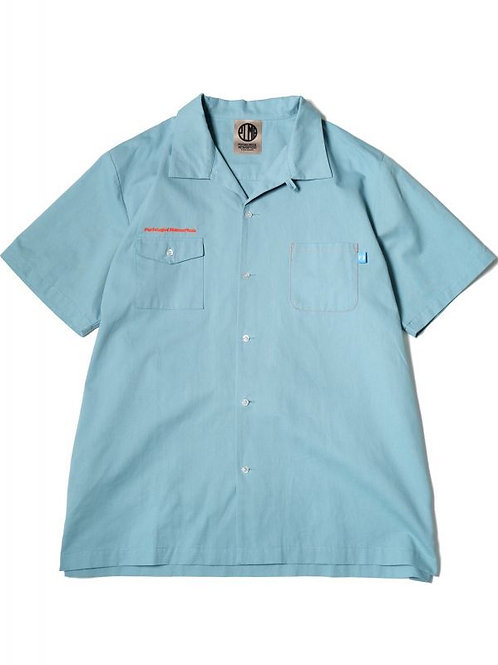 CHINO WORK SHIRTS SAX