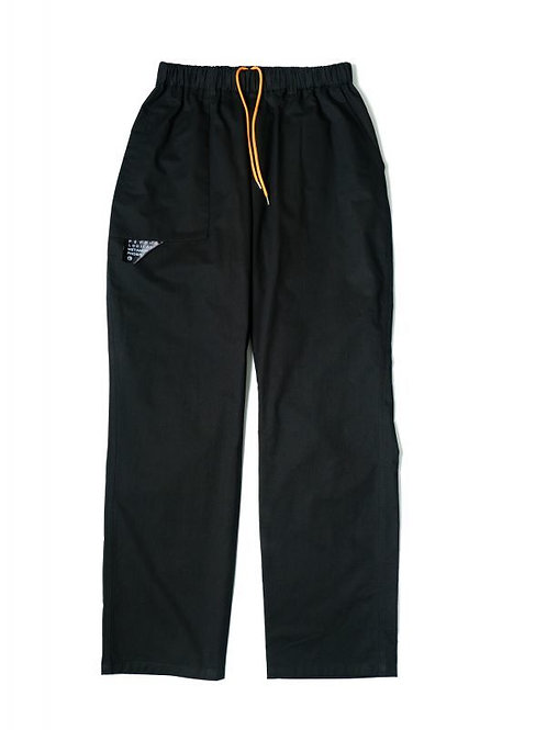 CHINO EASY PANTS BLACK