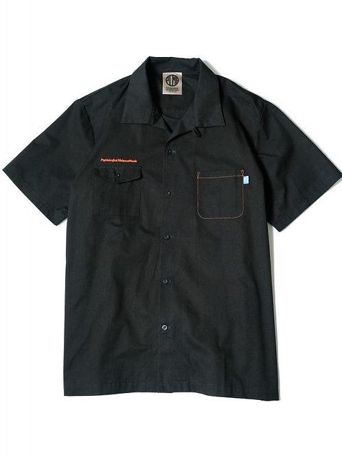 CHINO WORK SHIRTS BLACK