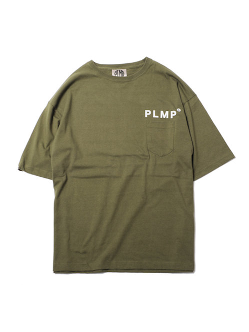PLMP POCKET WIDE TEE / OLIVE