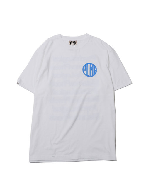 PLMP MARK TEE / WHITE