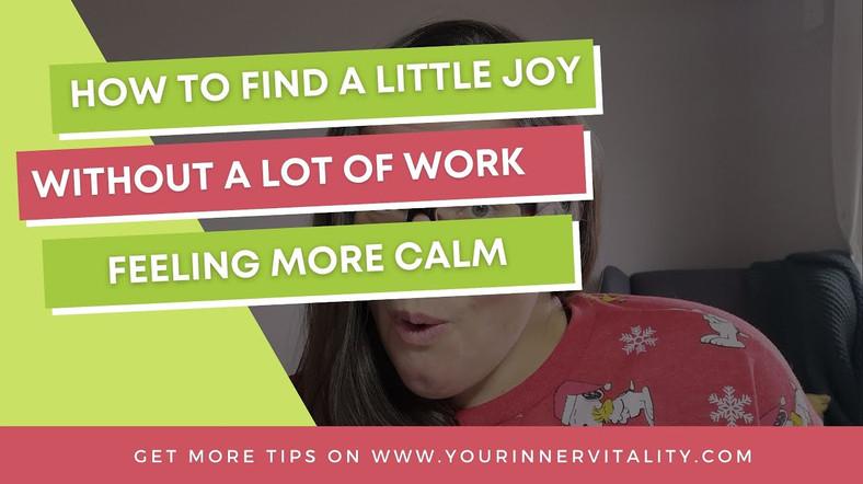 Add a Little Joy