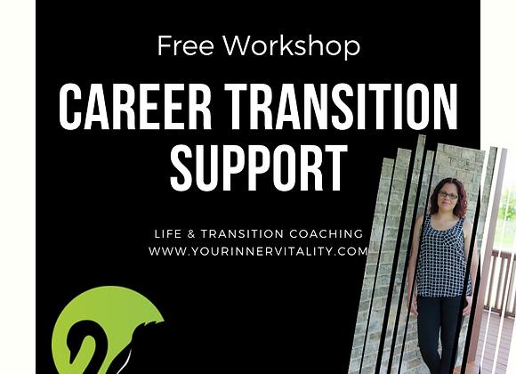 FREE Career Transition Support Workshop
