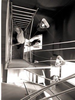 Chantier cage d'escalier