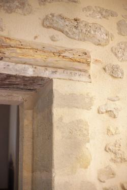Détail linteau ancien