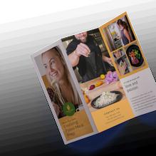 Caveman Chefs Brochure