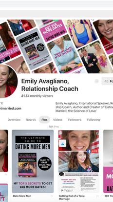 Emily, Pinterest