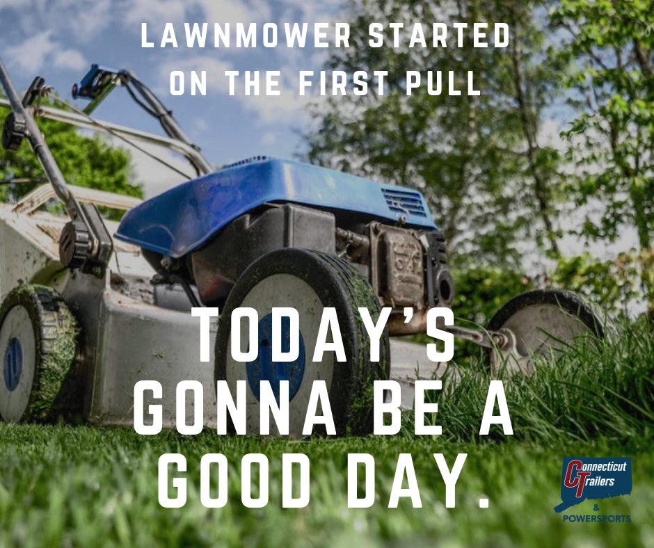 Lawnmower started on the first pull.png