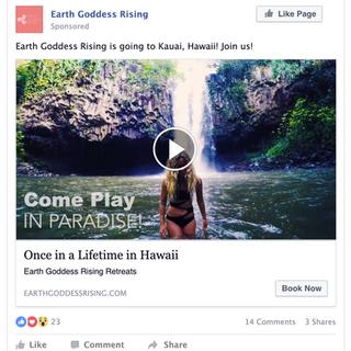 Facebook Video Ad (Brand Awareness)
