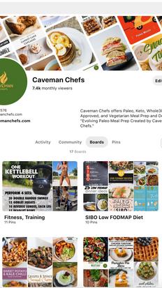 Caveman Chefs Pinterest