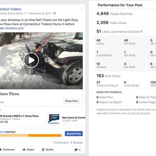 Facebook Social Media Post   + Marketing