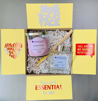 Reed Diffuser + Candle Gift Box for Any Occasion