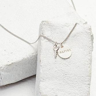 The Giving Keys Pendant + Mini Love Key