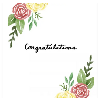 Congratulations - Floral