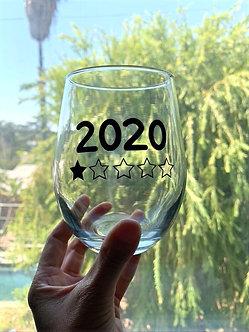 2020 Wine Glass
