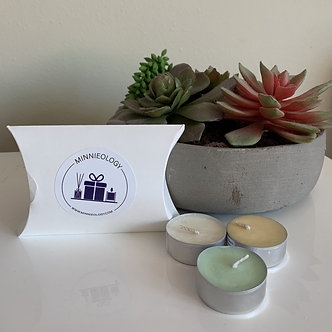 Minnieology Soy Wax Tealight Samples