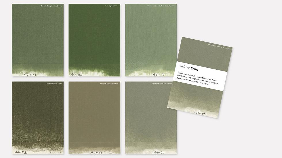 Postkartenset – Grüne Erde