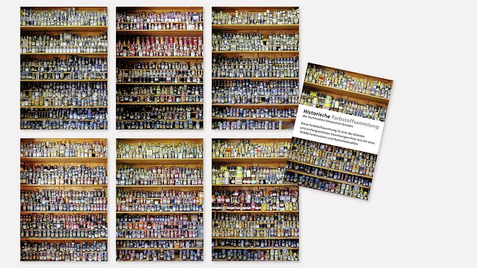 Postkartenset – Historische Farbstoffsammlung 1