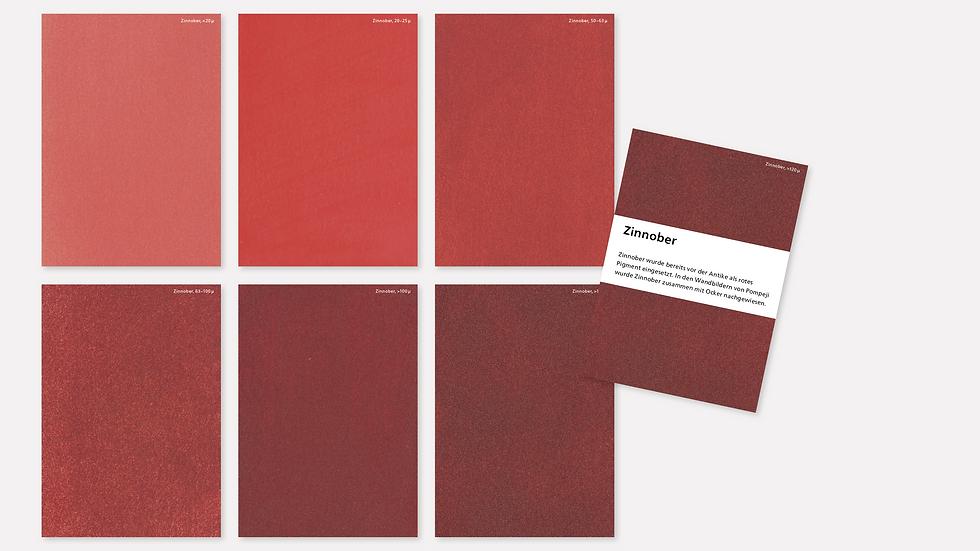Postkartenset – Zinnober