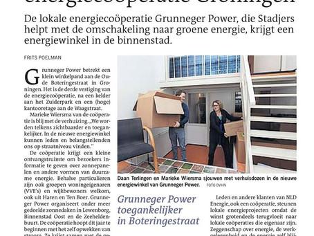 Grunneger Power verhuist