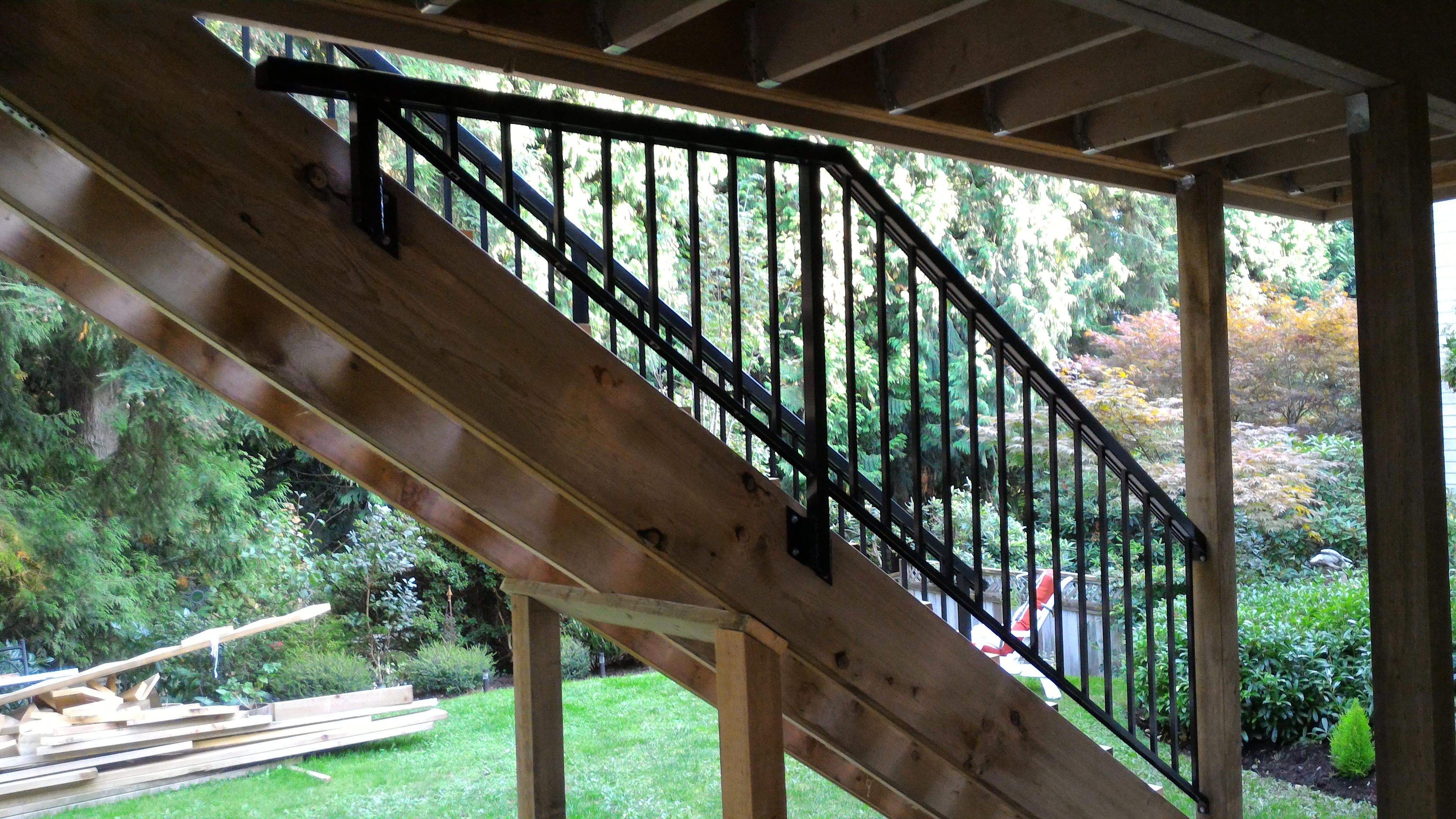 Custom fit railings