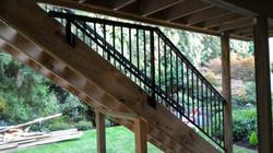 Custom fit railings