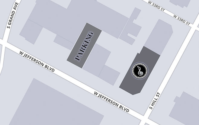SoundBite Studios parking map
