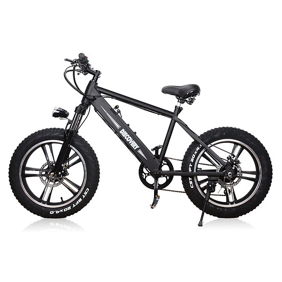 "NAKTO Fat Tire Electric Bicycle 20"" Discovery"