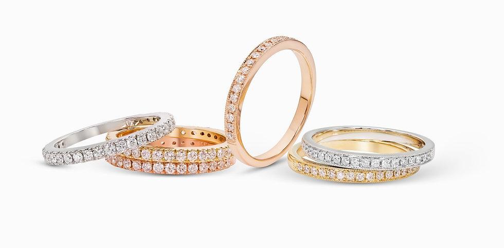 diamond rings,white gold,yellow gold,rose gold