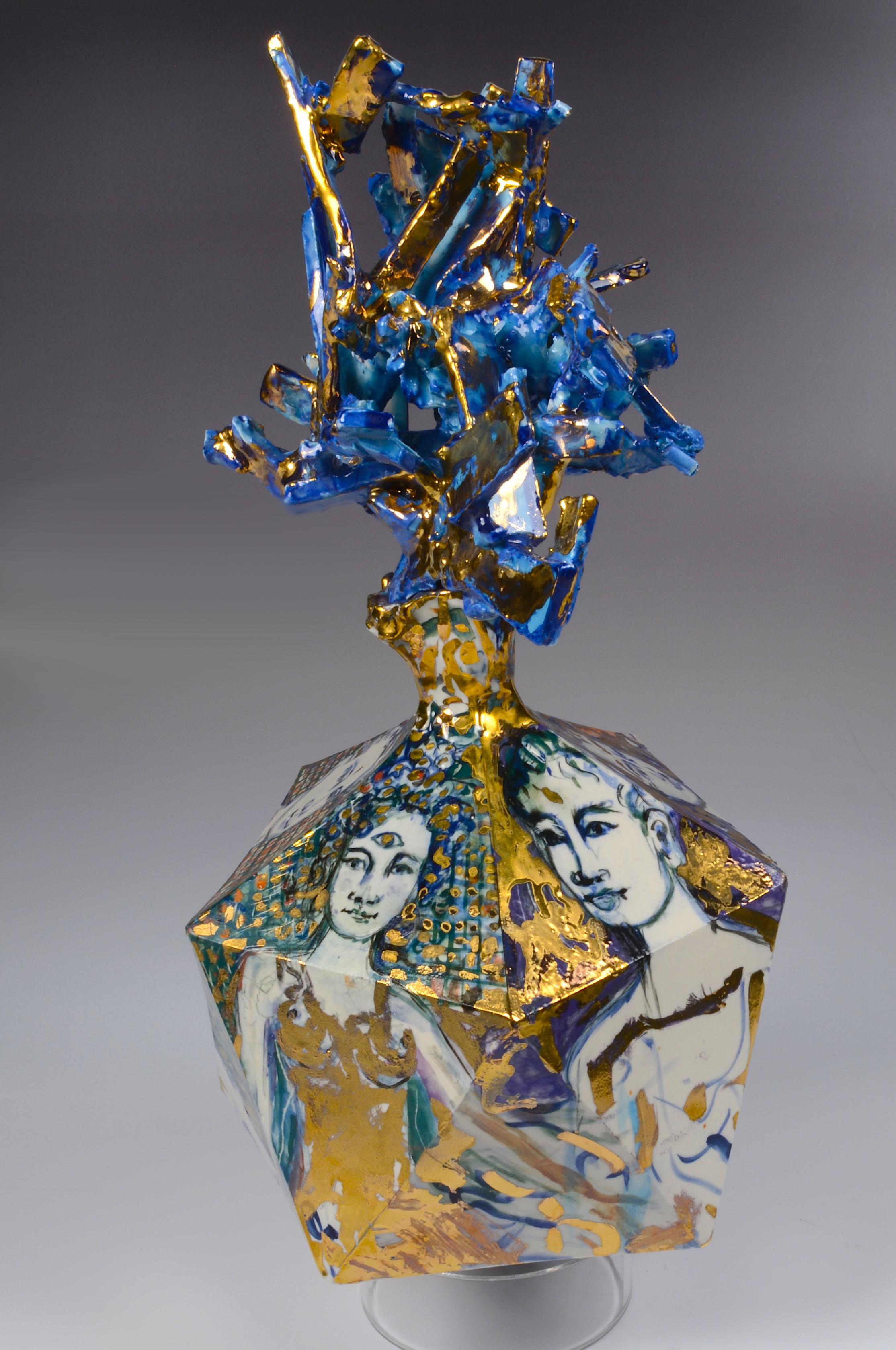 five face vase 13
